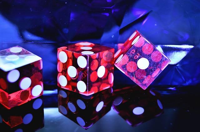 Casino Rote Würfel